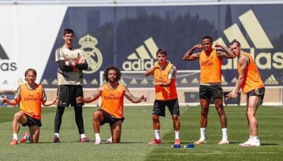 Gareth Bale llegó al Real Madrid en 2014 desde el Tottenham. (Twitter)