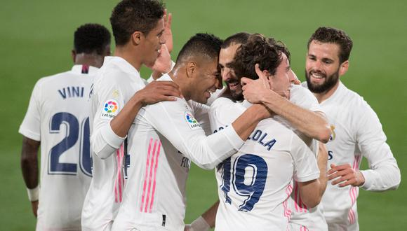 Real Madrid vs. Cádiz en Ramón Carranza por LaLiga Santander. (Foto: AFP)