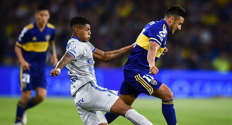 Wilder Cartagena llegó a Godoy Cruz procedente de Alianza Lima. (Getty)