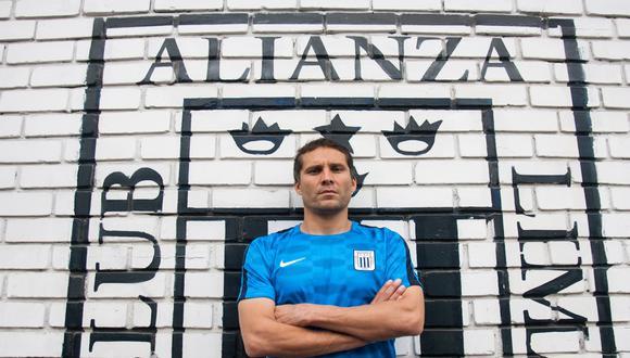 """Leao Butrón: """"Hay un montón de factores que pueden estar influyendo en Alianza, pero el principal somos nosotros"""". (GEC/ Eduardo Cavero)"""