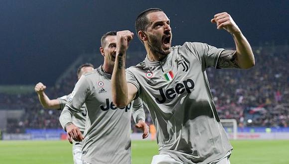 Juventus venció de visita al Cagliari y estira liderazgo en la Serie A. (Getty)