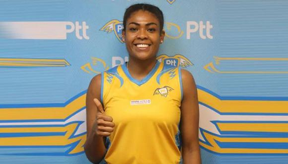 Ángela Leyva anunció renovación de su contrato con el PTT Spor de Turquía. (PTT Sport)