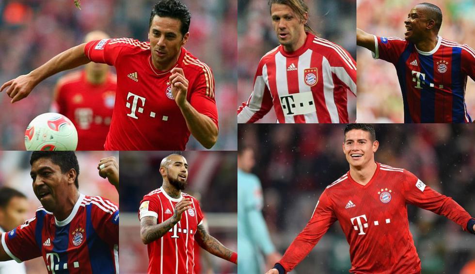 Coutinho tiene la valla alta: Pizarro, James y el top 20 de sudamericanos que jugaron en Bayern [FOTOS]