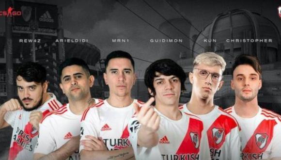 River Plate presenta su equipo de Counter Strike (CS: GO) (Foto: River Plate)