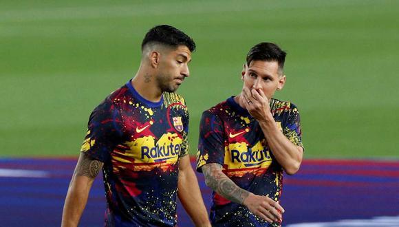 Luis Suárez se fue del Barcelona en 2020 rumbo al Atlético de Madrid. (Foto: Reuters)