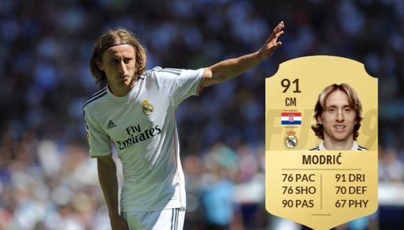 """""""FIFA 20"""": este es el equipo de la semana 11 con Modric, Iago Aspas y Navas en el once titular."""