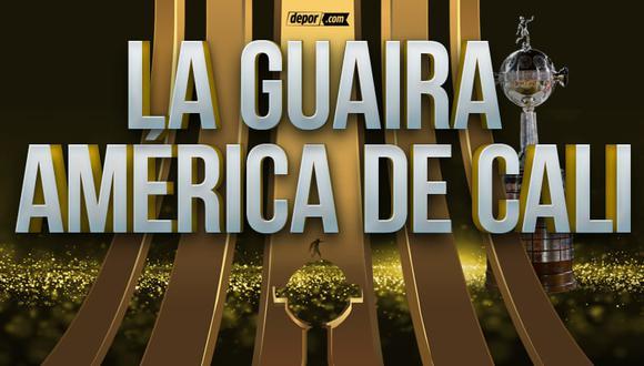 La Guaira vs. América de Cali juegan por la Copa Libertadores. (Depor)