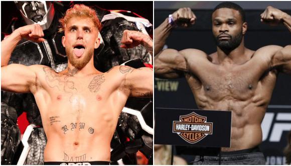 Youtuber Jake Paul enfrentará a Tyron Woodley en un combate de boxeo. (Difusión/MMA Fighting)
