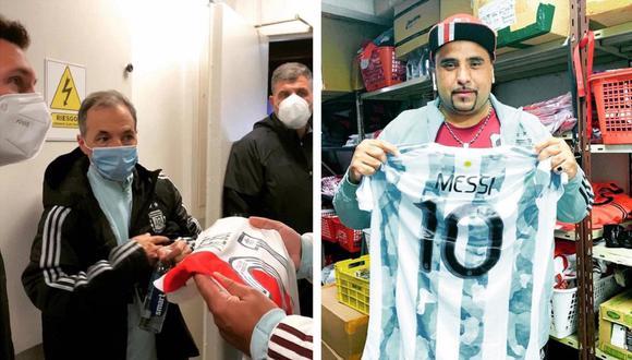 Lionel Messi protagonizó emotiva historia con utilero de River Plate. (Foto: Composición/Twitter)
