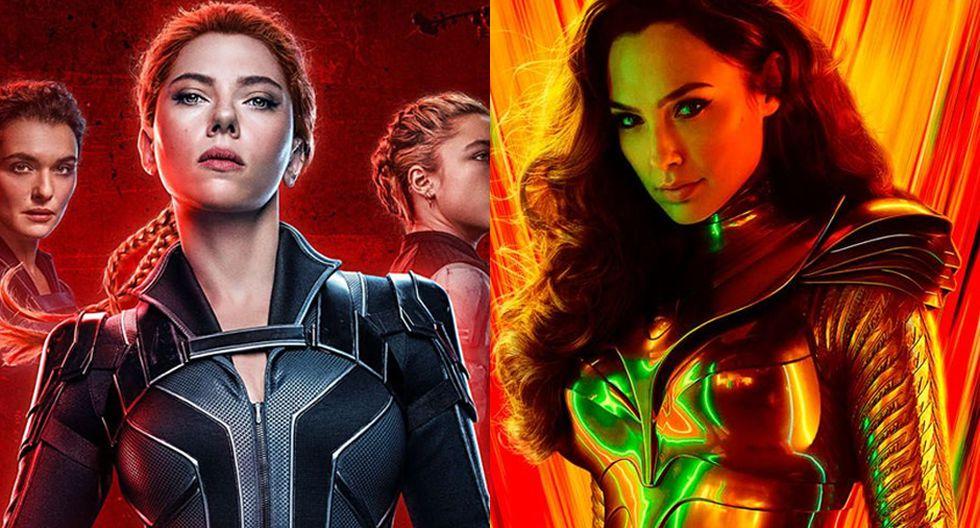 Marvel: ¿estreno de Black Widow se verá afectado por el cambio de fecha de Wonder Woman 1984? (Foto: Marvel/DC)