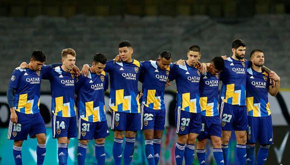 Boca Juniors quedó eliminado en los octavos de final de la Copa Libertadores 2021. (Foto: Getty)