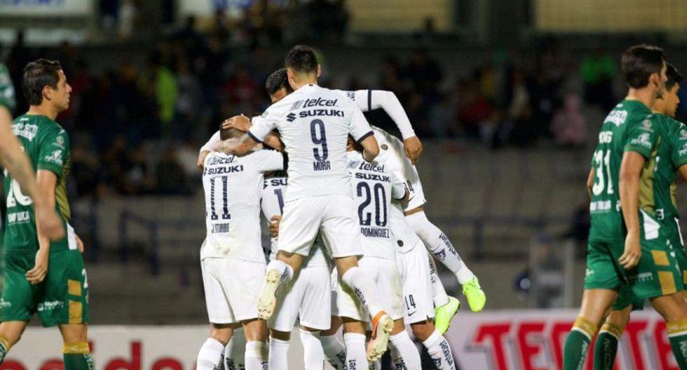 Pumas UNAM derrotó a Potros en el Olímpico Universitario por el Grupo 8 de Copa MX 2019.