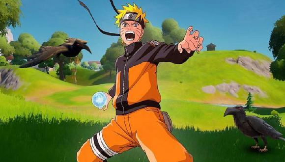 Naruto es la próxima estrella de Fortnite