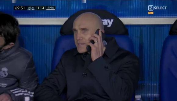 David Bettoni llamó a Zidane en pleno partido para hacer cambios. (Foto: ZSelect)