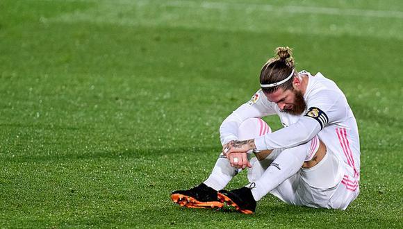 Sergio Ramos jugó infiltrado en la eliminación de Real Madrid. (Foto: Getty Images)