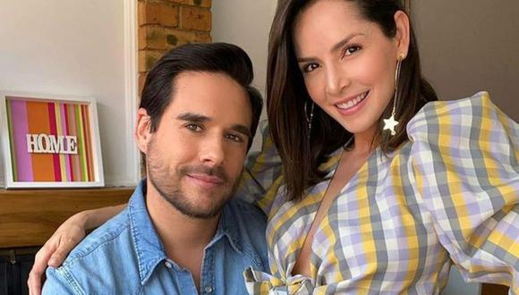 Carmen Villalobos y su esposo Sebastián Caicedo se enamoraron en un set de grabación. (Foto: Instagram @cvillalobos  / @sebastiancaicedo).