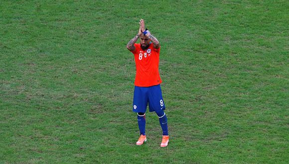 Arturo Vidal disputó su cuarta Copa América. (Getty)