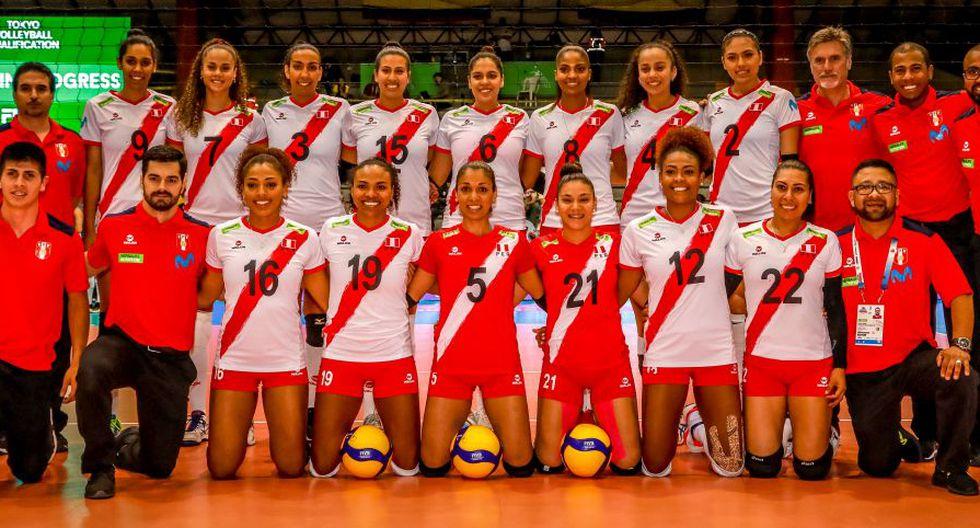 Perú viene de caer ante Argentina y Colombia en el Preolímpico. (FIVB)