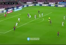 Braithwaite se 'disfrazó' de Suárez: golazo de Messi para el 1-0 de Barcelona vs Elche [VIDEO]