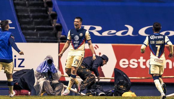 América derrotó 3-2 a Puebla en el duelo por la fecha 9 del Apertura 2020 de la Liga MX (Foto: @ClubAmerica)