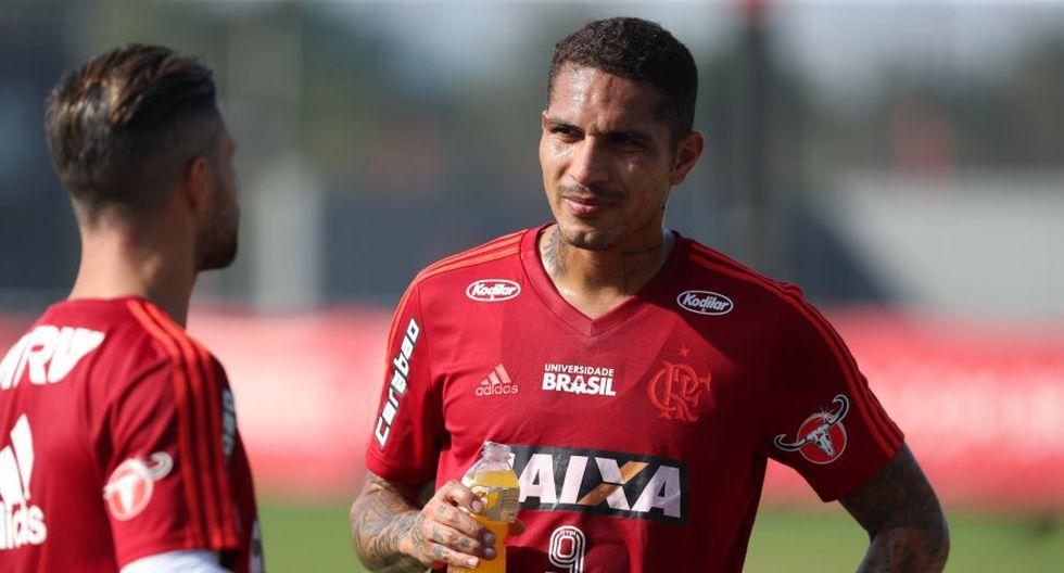 Paolo Guerrero en la lista de Flamengo para Copa Libertadores (Foto: Difusión).