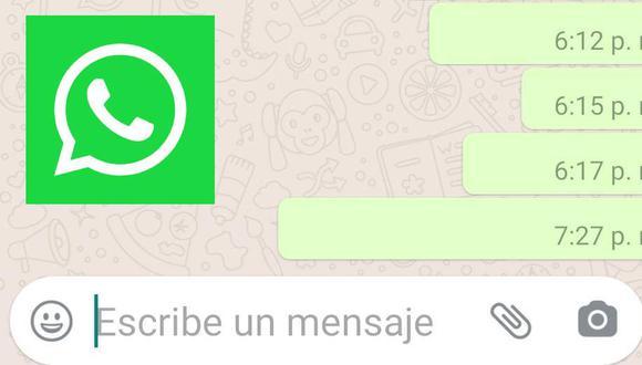 """Para enviar """"Mensajes invisibles"""" no es necesario descargarte un aplicativo adicional (Foto: Mag / WhatsApp)"""
