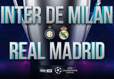Real Madrid vs. Inter de Milán EN VIVO: minuto a minuto por la Champions League 2020