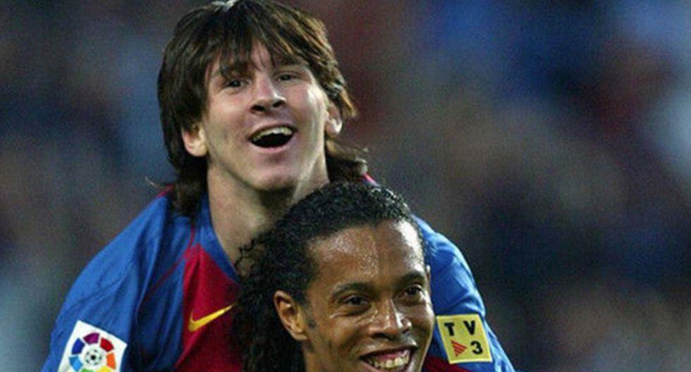 Según 'Mirror Football', Lionel Messi ayudaría a Ronaldinho a salir de la prisión en Paraguay. (Foto: Captura)
