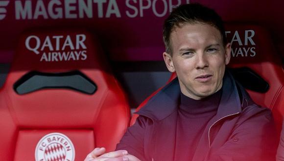 Julian Nagelsmann arregló con Bayern Munich por cinco temporadas. (Getty)