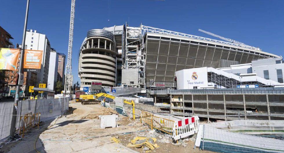 Las obras en el Santiago Bernabéu se paralizarán hasta el 9 de abril. (Foto: As)