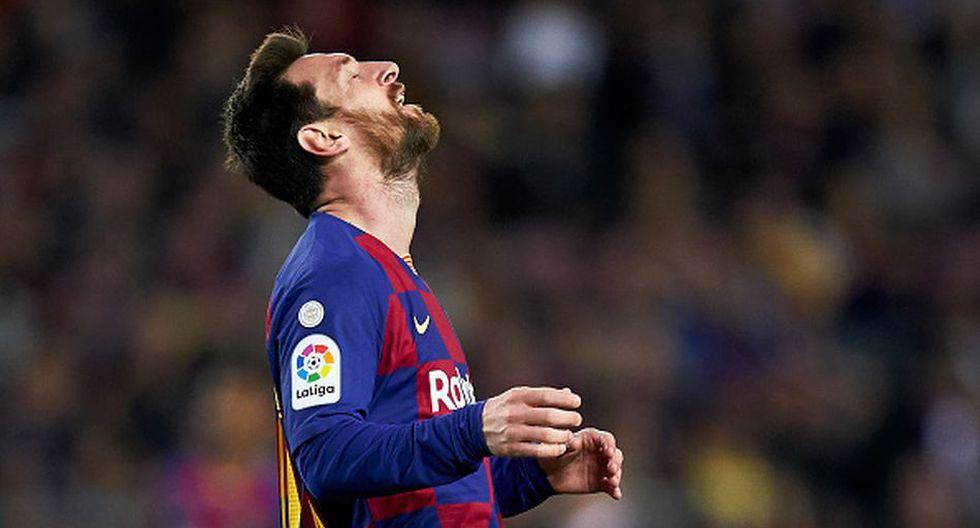 Lionel Messi llegó al Barcelona con tan solo 13 años. (Getty)