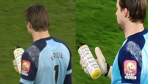 Tim Krul atajó dos penales al Tottenham y el Norwich avanzó a cuartos de la FA Cup.
