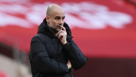 Pep Guardiola disputa su primera semifinal de Champions League con Manchester City. (Foto: Reuters)