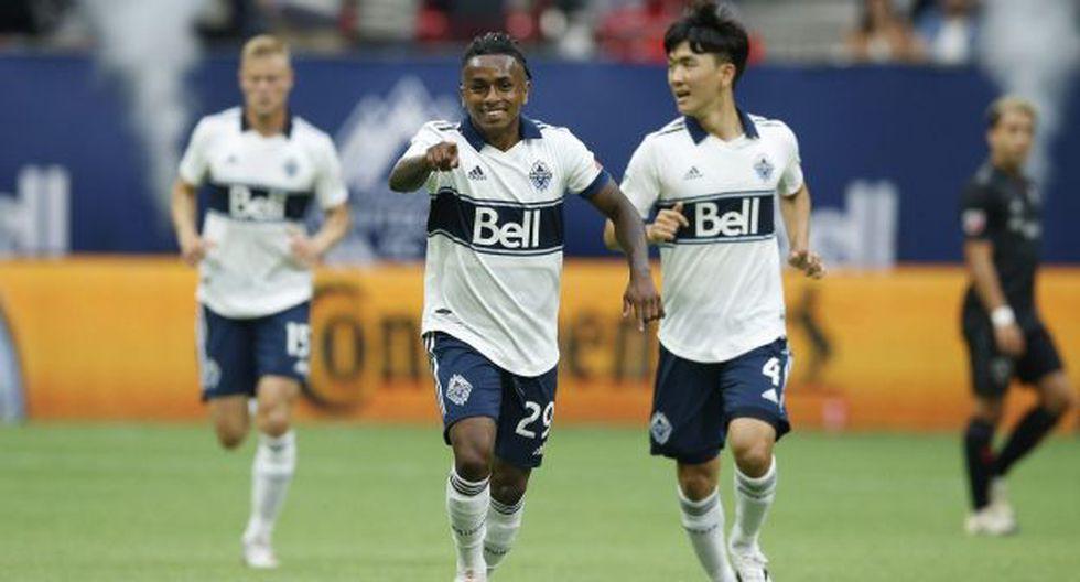 Yordy Reyna firmó su quinto gol en la presente temporada de la MLS. (Foto: Vancouver Whitecaps)