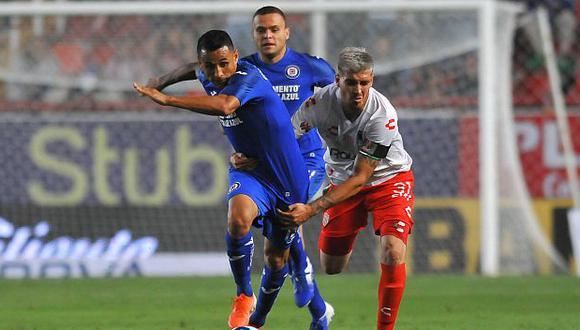Yoshimar Yotún ha participado en tres partidos de Cruz Azul en el Clausura 2020. (Foto: AFP)