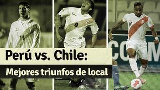 Perú vs. Chile: repasa los últimos triunfos de la bicolor en el Estadio Nacional