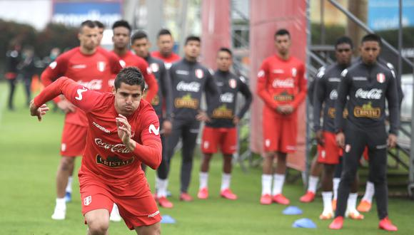 Aldo Corzo se suma a Nilson Loyola y quedó desconvocado de la Selección Peruana. (Foto: FPF).
