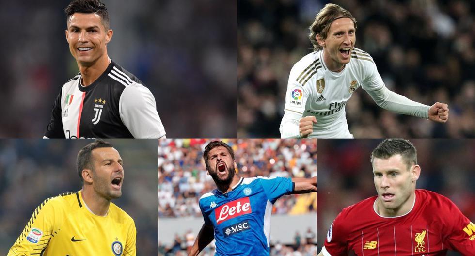 El top 10 de los jugadores mayores de 34 años más valiosos en la actualidad [FOTOS]