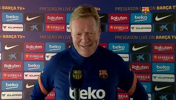 La era Ronald Koeman en Barcelona se inició con una goleada 4-0 sobre Villarreal. Un doblete de Ansu Fati, una conquista de Leo Messi y un autogol de Pau Torres definieron el triunfo azulgrana. (Foto: Barcelona)