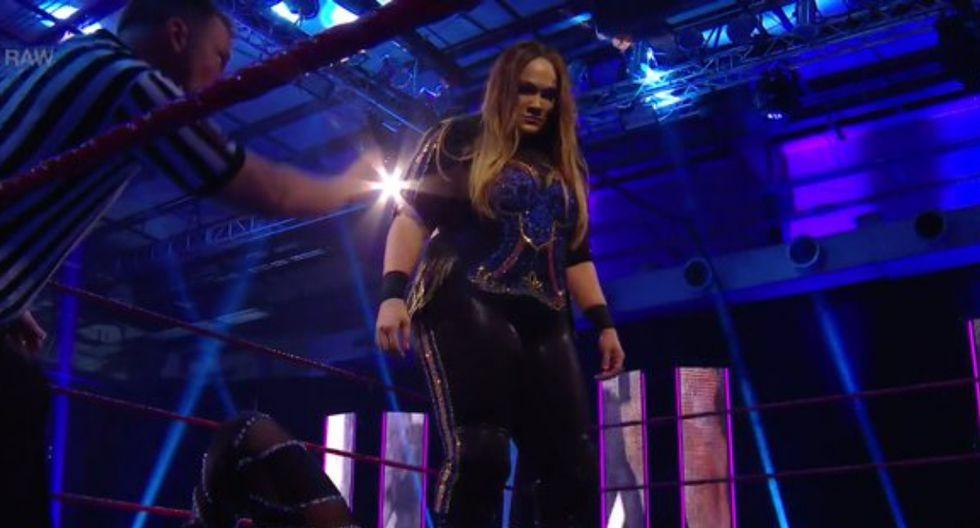 Nia Jax regresó a Raw y derrotó a Deonna Purazzo. (Foto: WWE)