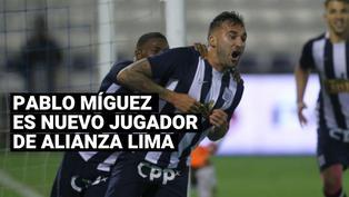 Alianza Lima confirma el regreso de Pablo Míguez luego de seis años