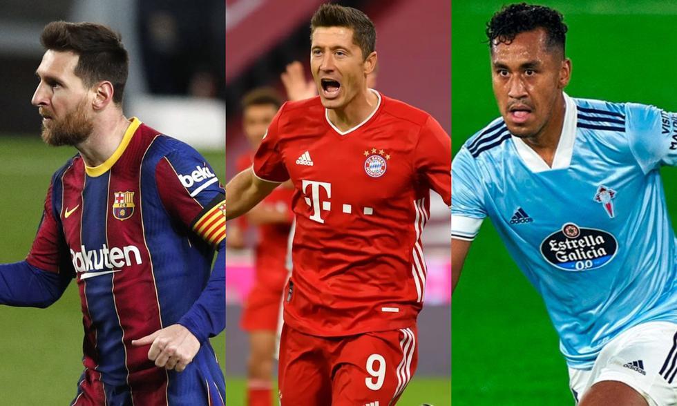 Los futbolistas más destacados de las principales ligas de Europa entre enero y marzo del 2021. (Fotos: Agencias)