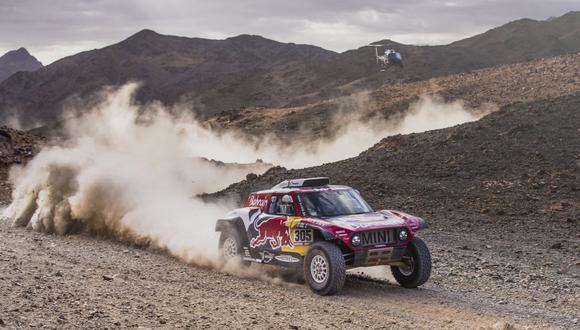 El español Carlos Sainz compite en su décimo tercer Dakar. (Foto: Dakar)