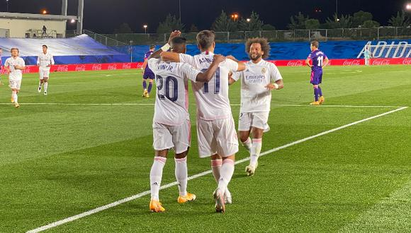 Real Madrid venció 1-0 al Valladolid en el Di Stéfano. (Foto: RMCF)