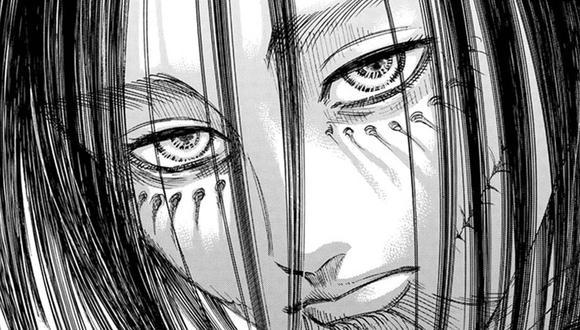"Mikasa fue la encargada de detener a Eren al final de ""Shingeki no Kyojin"" (Foto: Kodansha)"