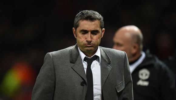 Ernesto Valverde duró dos temporadas y media como DT del Barcelona. (Foto: Agencias)
