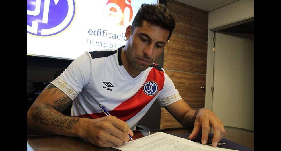 Mario Velarde. (Foto: Deportivo Municipal)