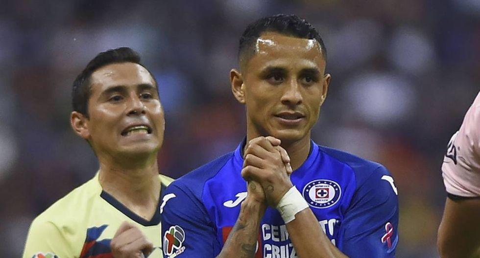 Yoshimar Yotun no terminó el encuentro del sábado ante el América por la Liga MX.