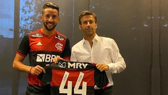 Mauricio Isla es el nuevo jugador de Flamengo (Foto -Flamengo)