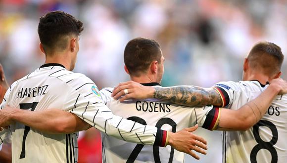 Alemania venció 4-2 a Portugal por la Eurocopa 2021. (Foto: EFE)